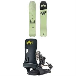 Rome Service Dog Snowboard + Crux Snowboard Bindings 2021