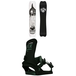 Slash Portal Snowboard ​+ Fix Truce Snowboard Bindings 2021