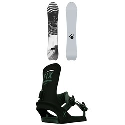 Slash Vertical Snowboard ​+ Fix Truce Snowboard Bindings 2021