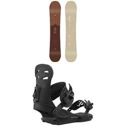 Arbor Ethos Snowboard + Union Rosa Snowboard Bindings - Women's 2021