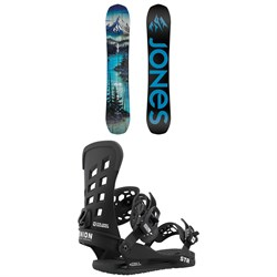 Jones Frontier Snowboard ​+ Union STR Snowboard Bindings 2021