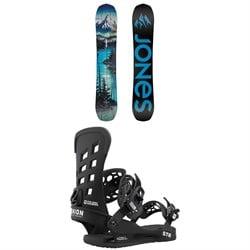 Jones Frontier Snowboard + Union STR Snowboard Bindings 2021
