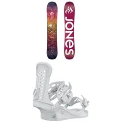 Jones Dream Catcher Snowboard ​+ Union Trilogy Snowboard Bindings - Women's 2021