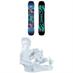 Jones Twin Sister Snowboard + Union Trilogy Snowboard Bindings - Women's 2021