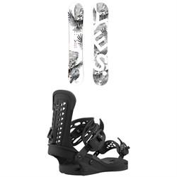 Yes. Hel Yes. Snowboard + Union Trilogy Snowboard Bindings - Women's 2021
