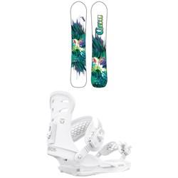 GNU Chromatic BTX Snowboard + Union Rosa Snowboard Bindings - Women's 2021