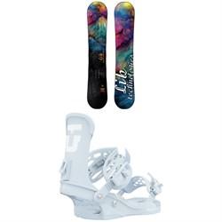 Lib Tech Glider BTX Snowboard + Union Trilogy Snowboard Bindings - Women's 2021