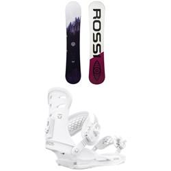 Rossignol Gala Snowboard + Union Rosa Snowboard Bindings - Women's 2021