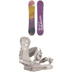 Bataleon Spirit Snowboard + Union Rosa Snowboard Bindings - Women's 2021