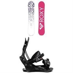 Roxy Glow Snowboard + Flow Juno Snowboard Bindings - Women's 2021