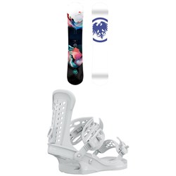 Never Summer Proto Synthesis Snowboard ​+ Union Trilogy Snowboard Bindings - Women's 2021