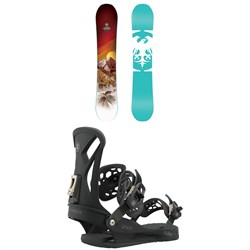 Never Summer Infinity Snowboard ​+ Union Juliet Snowboard Bindings - Women's 2021