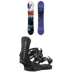Never Summer Lady West Snowboard ​+ Union Trilogy Snowboard Bindings - Women's 2021