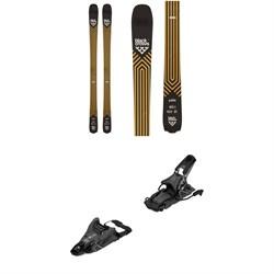 Black Crows Justis Skis + Salomon S/Lab Shift MNC 13 Alpine Touring Ski Bindings 2021