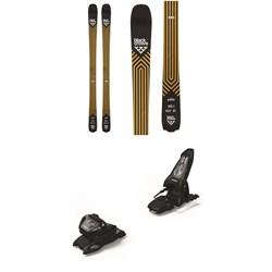 Black Crows Justis Skis + Marker Griffon 13 ID Ski Bindings 2021