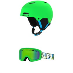 Giro Crue MIPS Helmet ​+ Rev Goggles - Little Kids'