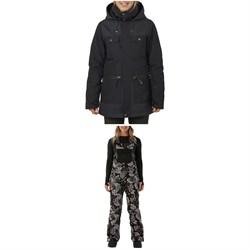 Rojo Outerwear Aiden Jacket + Snow Day Bibs - Women's