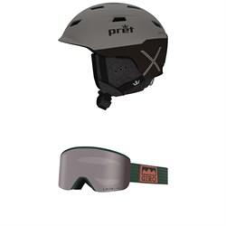 Pret Refuge X Helmet + Giro Axis Goggles