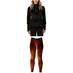 Rojo Outerwear Baselayer Hoodie + Velvet Full Length Pants - Women's