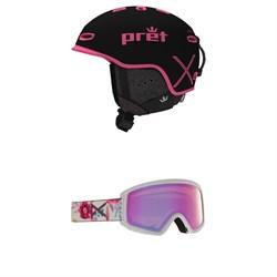 Pret Ripper X Helmet + Anon Tracker 2.0 Goggles - Kids'