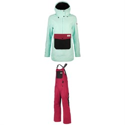 Planks Clothing Overstoke Anorak ​+ Fun-Garees Bibs - Women's