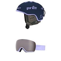 Pret Lyric X Helmet + Giro Lusi Goggles - Women's