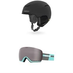 Giro Terra MIPS Helmet + Lusi Goggles - Women's