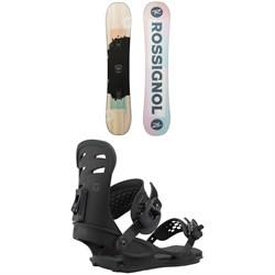 Rossignol Meraki Snowboard + Union Rosa Snowboard Bindings - Women's 2021