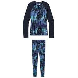 Smartwool Merino 250 Baselayer Pattern Crew ​+ Bottoms - Women's