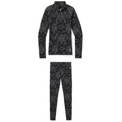 Smartwool Merino 250 Baselayer Pattern 1​/4 Zip Top ​+ Bottoms - Women's