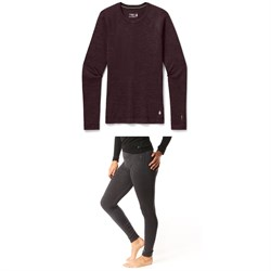 Smartwool Merino 250 Baselayer Crew ​+ Bottoms - Women's