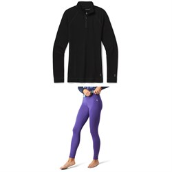 Smartwool Merino 250 Baselayer 1​/4 Zip Top ​+ Bottoms - Women's