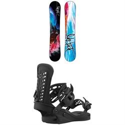 Lib Tech No. 43 HP C2X Snowboard + Union Trilogy Snowboard Bindings - Women's 2021