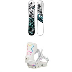 Lib Tech Ryme C3 Snowboard ​+ Bent Metal Stylist Snowboard Bindings - Women's 2021