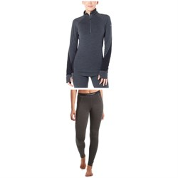 Icebreaker 260 Zone Long Sleeve Half Zip Top ​+ Leggings - Women's
