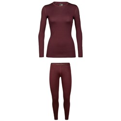 Icebreaker 200 Oasis Baselayer Crew Top ​+ 200 Oasis Leggings - Women's