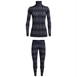 Icebreaker 250 Vertex Long Sleeve Crystalline Half Zip ​+ Leggings - Women's