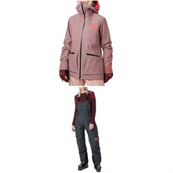 Helly Hansen Powderqueen 3.0 Jacket ​+ Bib Pants - Women's