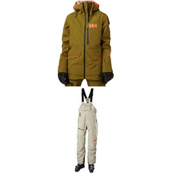 Helly Hansen Aurora Shell 2.0 Jacket ​+ Powderqueen Bib Pants - Women's