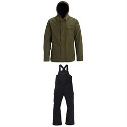 Burton Dunmore Jacket + Reserve Bibs