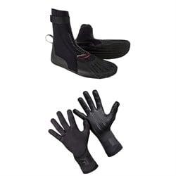 O'Neill 3mm Heat RT Boots + 1.5mm Psycho Tech Gloves