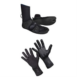O'Neill 3mm Mutant Split Toe Wetsuit Boots ​+ 1.5mm Psycho Tech Gloves