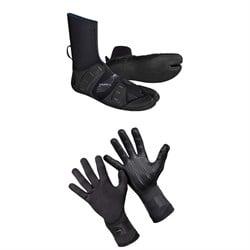 O'Neill 3mm Mutant Split Toe Wetsuit Boots + 1.5mm Psycho Tech Gloves