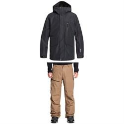 Quiksilver Mission GORE-TEX 2L Jacket + Forever 2L GORE-TEX Pants
