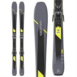 Salomon XDR 80 ST C Skis + Z11 GW Bindings 2020