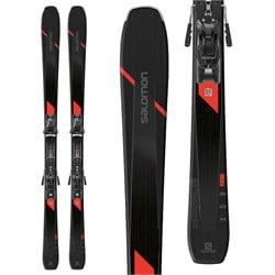 Salomon XDR 80 Ti Skis + Z11 GW Bindings 2019