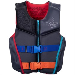 Hyperlite Youth Indy HRM Neo Wake Vest - Boys' 2021