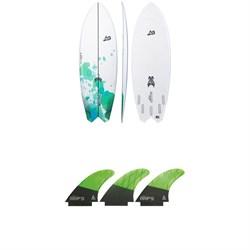 Lib Tech x Lost Hydra Surfboard + Tri Large Fin Set