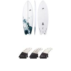 Lib Tech x Lost Hydra Surfboard + Tri Medium Fin Set