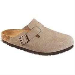 Birkenstock Boston Suede Soft Footbed Clogs